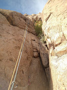 Rock Climbing Photo: Top part of Pitch 1. Photo Elijah Schold.