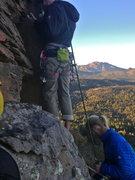 Rock Climbing Photo: At the base of Koran with Austin Kessler belaying ...