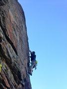 Rock Climbing Photo: Fun and exciting face moves