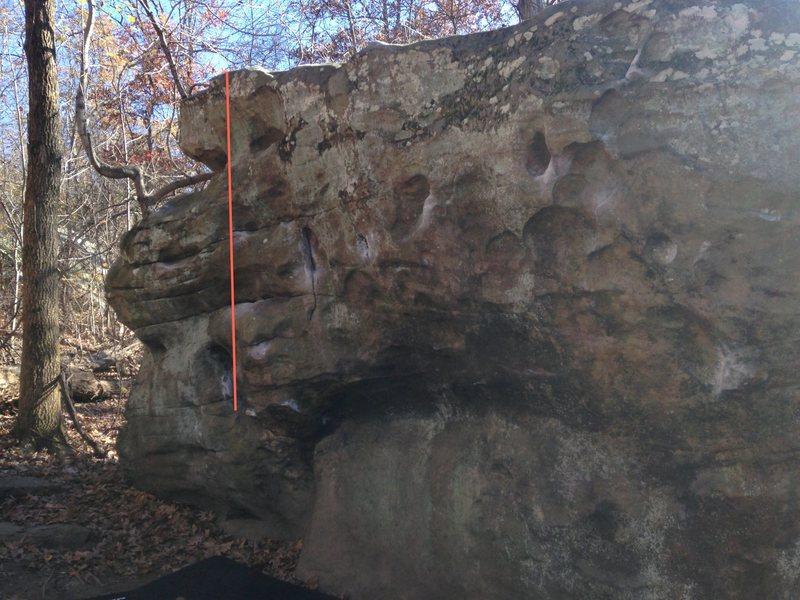 Rock Climbing Photo: One Bourbon