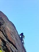 Rock Climbing Photo: Studying the Koran