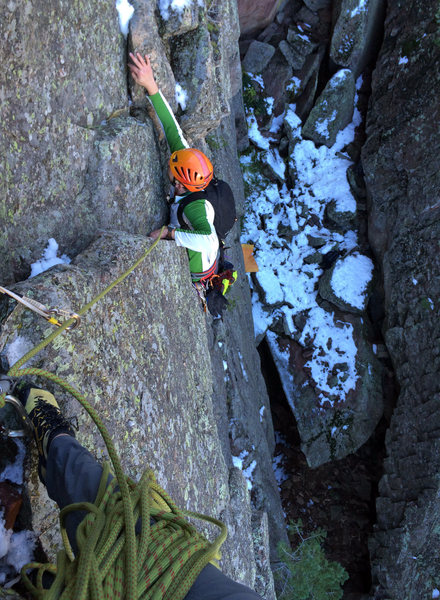 Rock Climbing Photo: Still pretty reasonable even with a little lingeri...