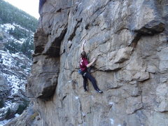 Rock Climbing Photo: Head Up Dirty.