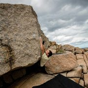 Rock Climbing Photo: Flipper V4-6