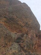 Rock Climbing Photo: West side (traverse 2 pitch, forgot name)