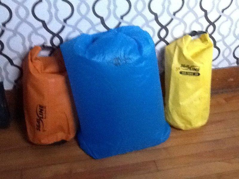Rock Climbing Photo: Dry bags