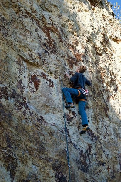 Rock Climbing Photo: crimping