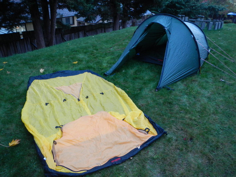Rock Climbing Photo: 4 season tent body