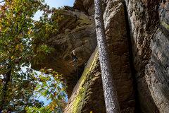 Rock Climbing Photo: Brick Attack 5.12a P.C. Danny Henkel
