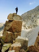 Rock Climbing Photo: Summit of Tuttle Obelisk