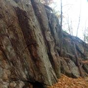 Rock Climbing Photo: Books traverse