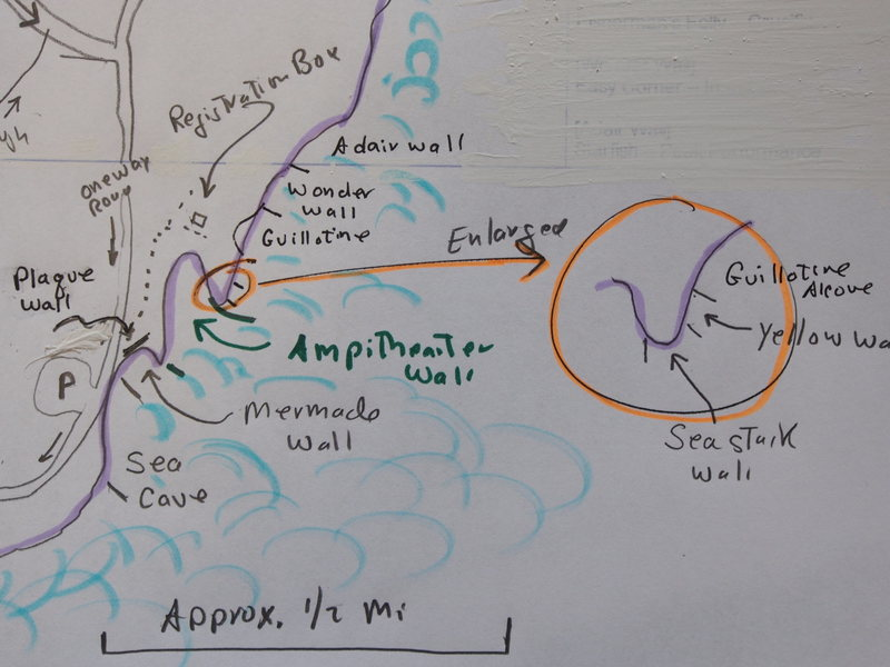 Close Up of Sketch Map