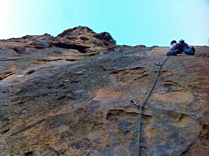 Rock Climbing Photo: Ben Hockman on Boromir.