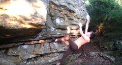 Rock Climbing Photo: Amun's route