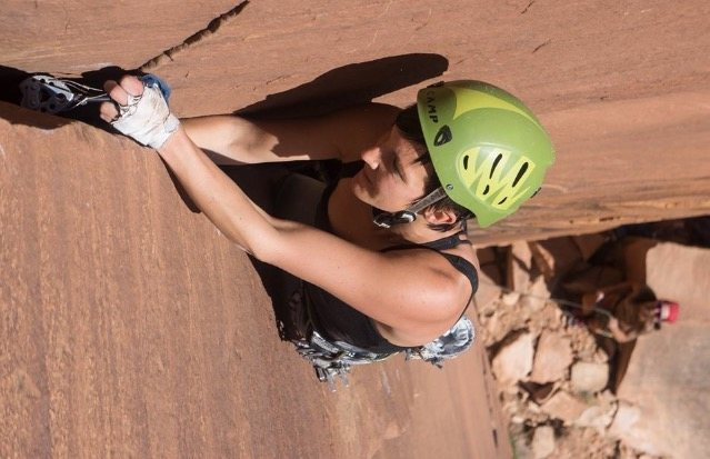 Rock Climbing Photo: KW at some of the last jams