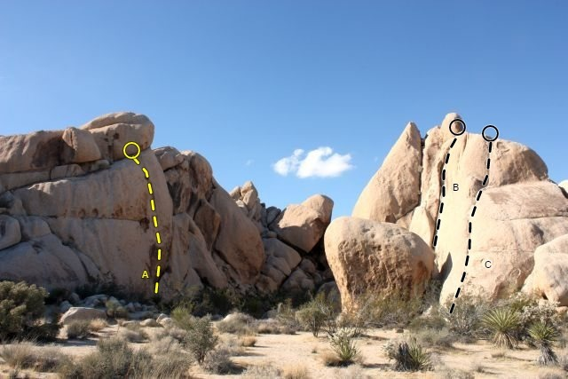 Rock Climbing Photo: Southeast-facing cove around and right from Zingin...