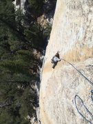 Rock Climbing Photo: Casey Van Gelderen on pitch 2