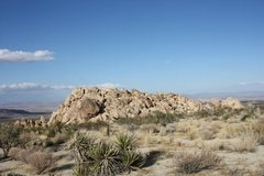Rock Climbing Photo: The Monkey's Paw from the south, Joshua Tree NP