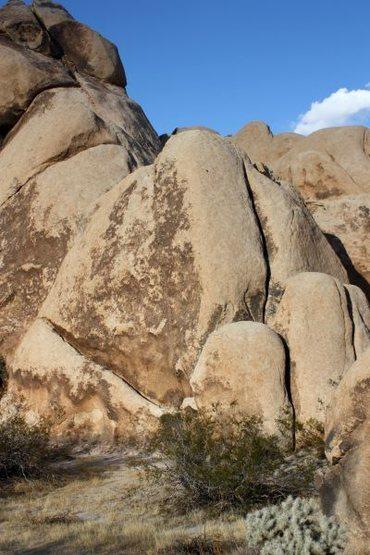 Rock Climbing Photo: Zelda (5.5), Joshua Tree NP