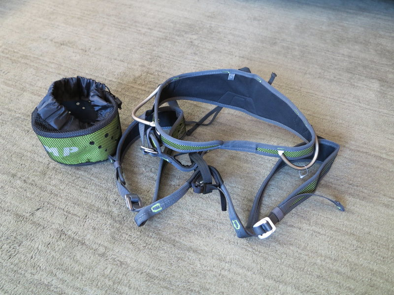 Rock Climbing Photo: Camp Air CR harness Size Large Brand New in Bag  $...