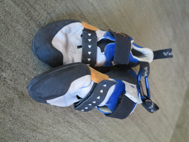 Scarpa Force X Used as a gym shoe but has ton of wear left in them Size 44  $35