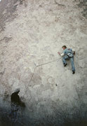 Rock Climbing Photo: That Old Soft Shoe, 1983. Bill ??? leading, Kevin ...