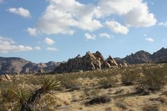 Rock Climbing Photo: The Big Top from The Little Top, Joshua Tree NP
