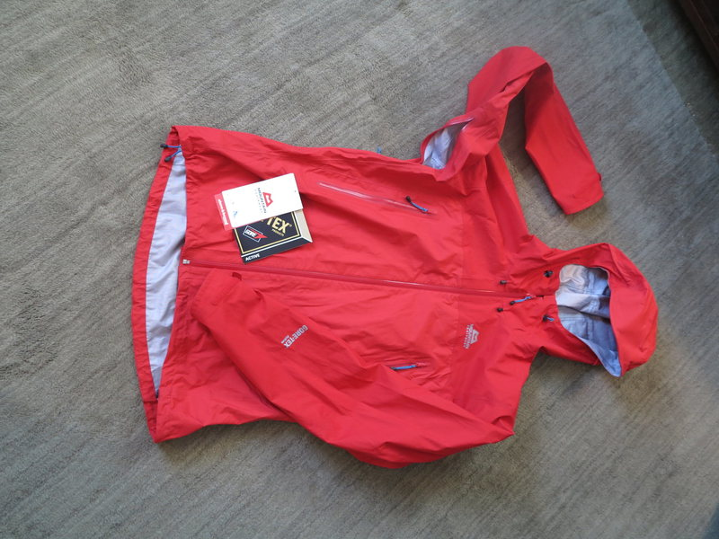 Rock Climbing Photo: Mountain Equipment Fire Fox Gore-tex Active Jacket...