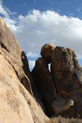 Rock Climbing Photo: Near the Big Top, Joshua Tree NP