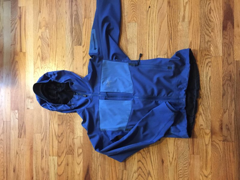 Rock Climbing Photo: Arcteryx Gamma MX Hoodie - Sz: M