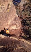 Rock Climbing Photo: Robert on P2.