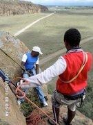 Rock Climbing Photo: Hell's Gate NP, Kenya