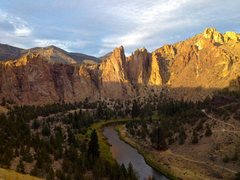 The beautiful Smith Rock State Park, OR