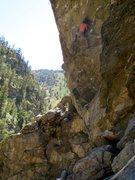 Rock Climbing Photo: Hanging Judge, CCC, CO