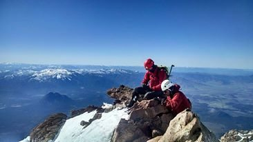 Rock Climbing Photo: Homies on Shastina, Mount Shasta, CA