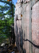 Rock Climbing Photo: Another picture of the hole