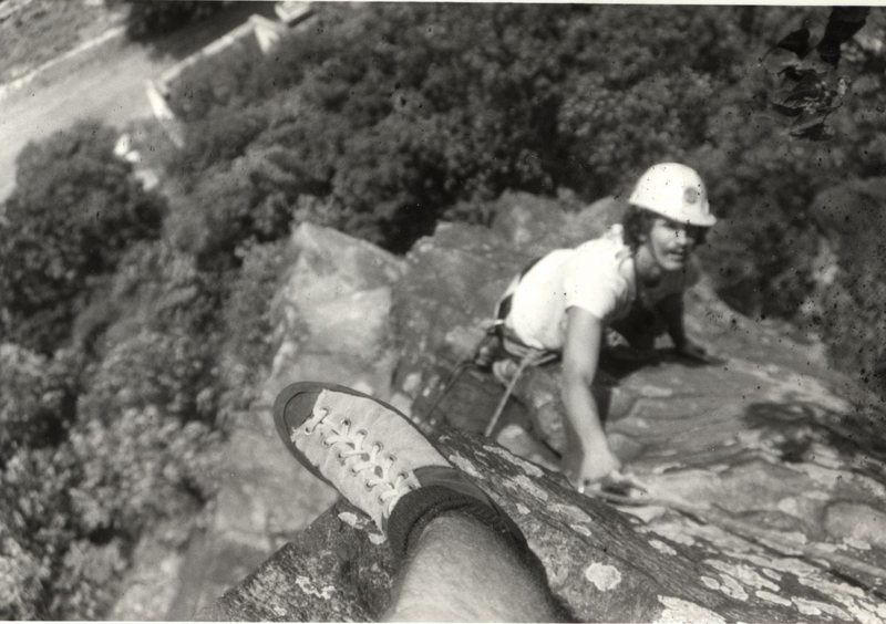 Paul Clancy, Rob Savoye (foot), Maryland Heights (from Rob Savoye collection).