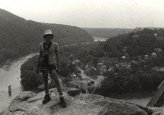 Rock Climbing Photo: Scott McClurg. The classic Harpers Ferry photo. (R...