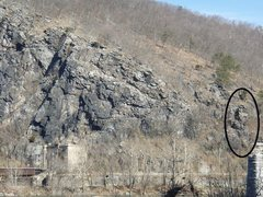 Rock Climbing Photo: Location of the tower where Ishmael is found. From...