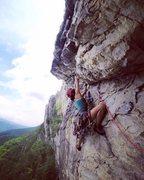 Rock Climbing Photo: starting P1