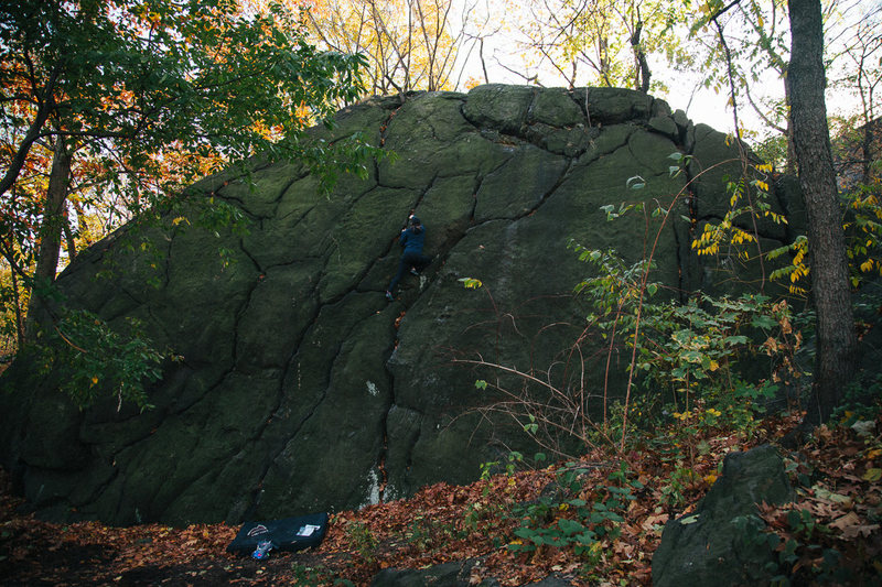 Rock Climbing Photo: Shit Rock - North Central Park