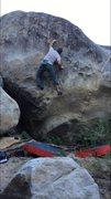 Rock Climbing Photo: Juggernaut, V3