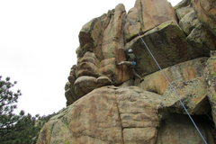 Rock Climbing Photo: Packs a lot of punch for such a short route. I tho...