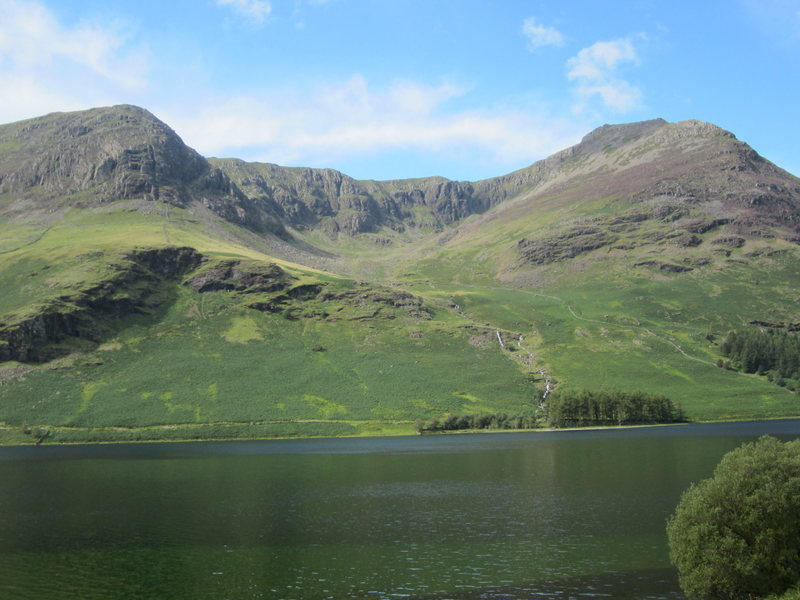 Lake District Hills From Buttermere Lake