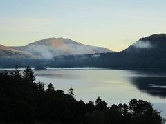 Rock Climbing Photo: Dawn over Derwentwater Lake District
