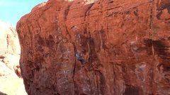 Rock Climbing Photo: me on it nice route