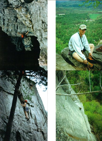 Rock Climbing Photo: somewhere in New England