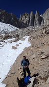 Rock Climbing Photo: on the approach to mt. whitney