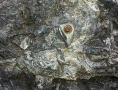 Rock Climbing Photo: Galvanic - outside hole