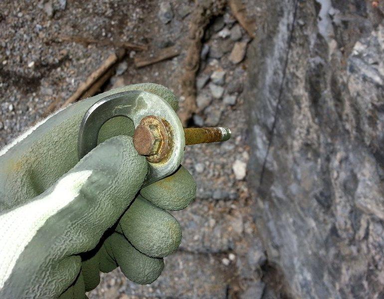 Rock Climbing Photo: Galvanic - stud